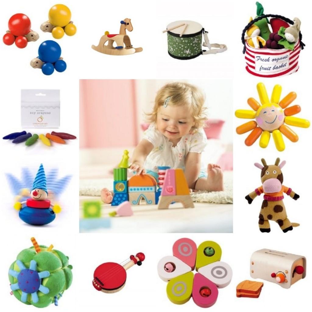 Полезные подарки для детей 1 год